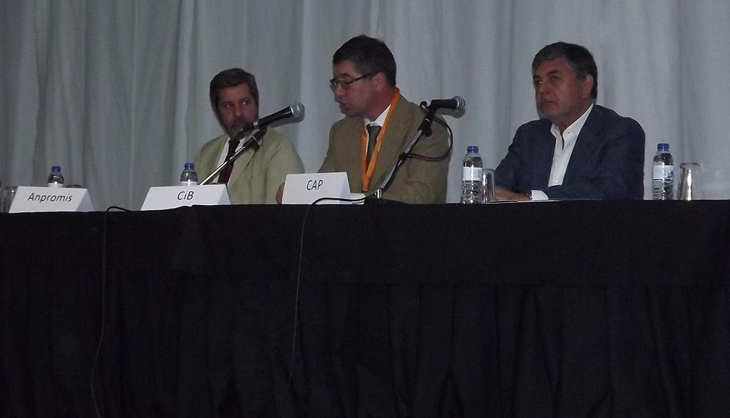 Sessão de Abertura com Anpromis, CiB e CAP