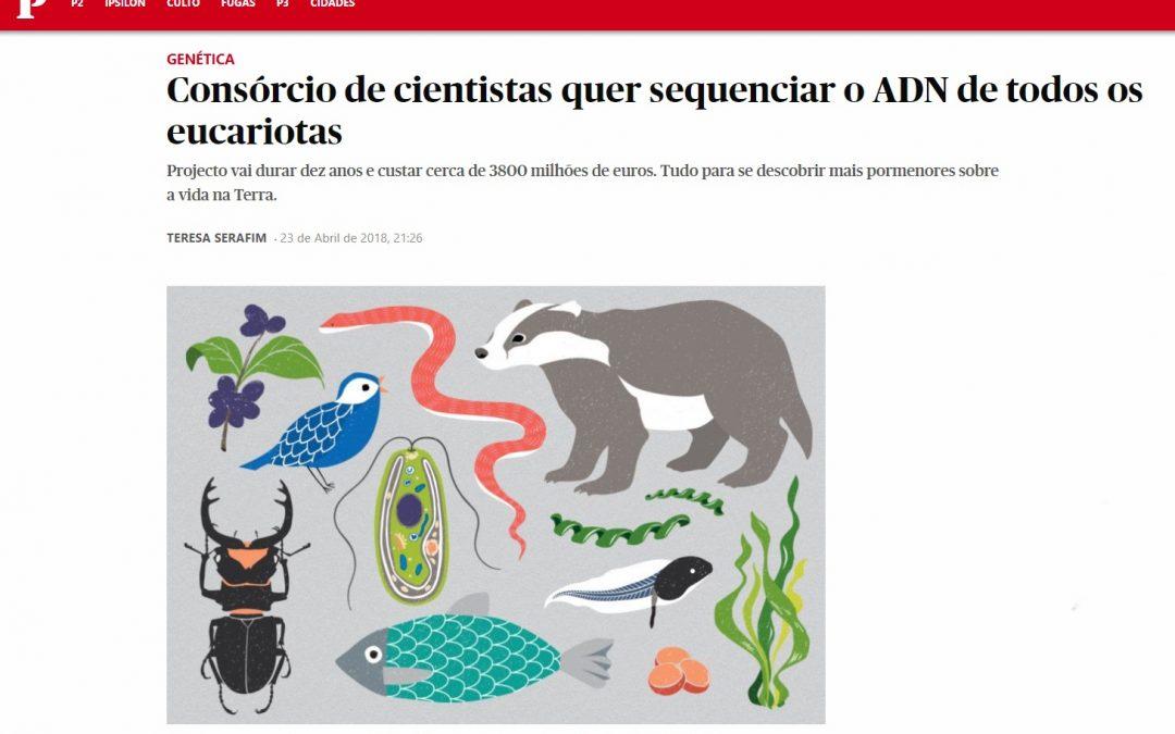 Consórcio de cientistas quer sequenciar o DNA de todos os eucariotas