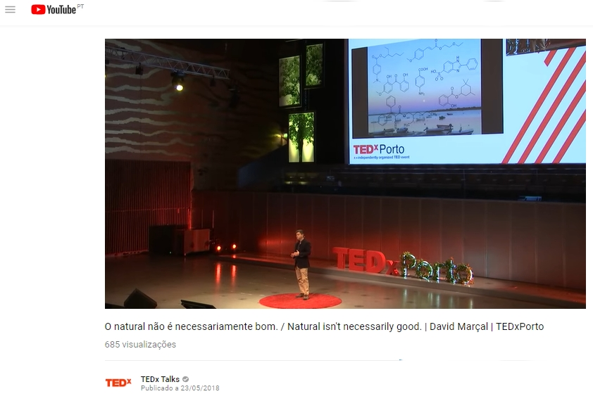 Vídeo | O natural não é necessariamente bom |  Por David Marçal em TEDxPorto