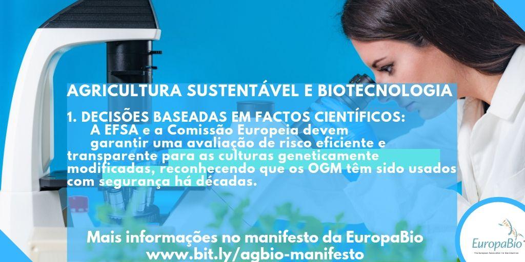 Manifesto pró-biotecnologia |Redefinir metas na União Europeia