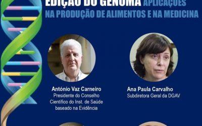 CiB organiza webinar sobre utilização da edição genética na medicina e nos alimentos
