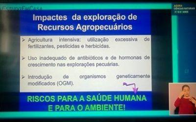 Professora de Ciências diz que OGM são risco para a saúde e fala em excesso de pesticidas