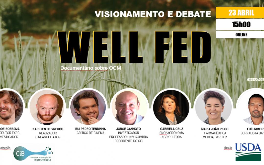 Convite | Well Fed – documentário sobre OGM