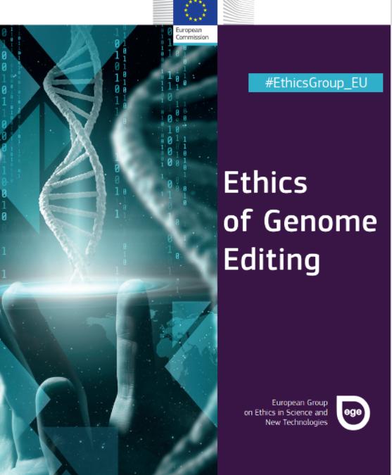 Relatório EGE sobre edição do genoma